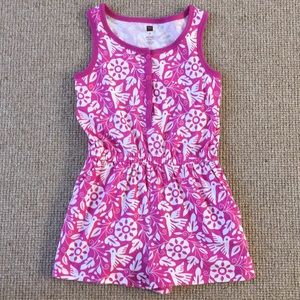 Girls Size 8 tea Collection romper